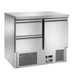 Saladette Refrigerata Statica - [+2 +8 C°] - CON 2 CASSETTI