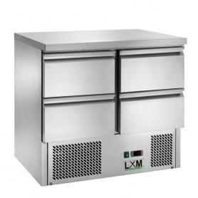 Saladette Refrigerata Statica - [+2 +8 C°] - CON 4 CASSETTI