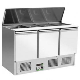 Saladette Refrigerata Statica - [+2 +8 C°] - 4 x GN 1/1