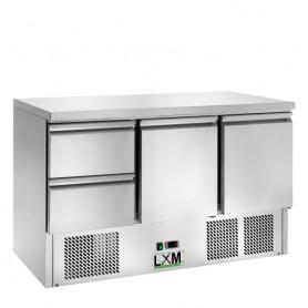 Saladette Refrigerata Statica - [+2 +8 C°] - 2 CASSETTI