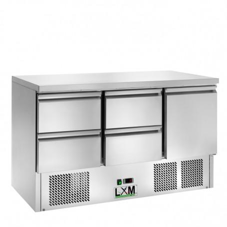 Saladette Refrigerata Statica - [+2 +8 C°] - 4 CASSETTI