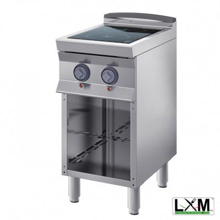 Cucina Professionale Elettrica - Vetroceramica 1 Piastra - 8,8 KW - A Giorno