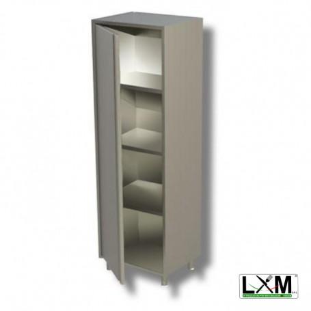 Armadio neutro verticale con 1 porta a battente prof 60 cm H 150