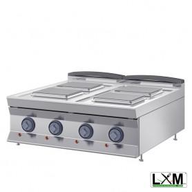 Cucina da Banco Elettrica - 4 Piastre 220x220 - 10,4 KW
