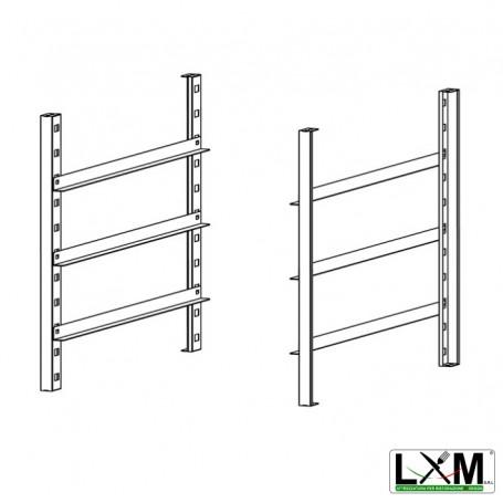 Kit Porta teglie per Forno a Gas - 4