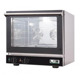 Forno elettrico analogico a convezione con ventilazione linea SNACK 4 teglie 46x34 cm