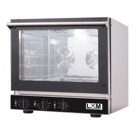 Forno elettrico POTENZIATO CON GRILL analogico a convezione con ventilazione linea SNACK 4 teglie 46x34 cm