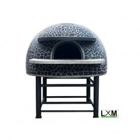 Forno a legna artigianale per pizzeria - Camera interna 80x80 cm