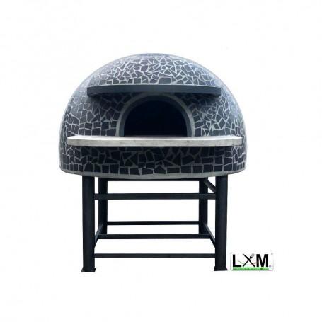 Forno a legna artigianale per pizzeria - Camera interna 100x100 cm