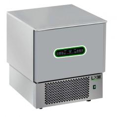 Abbattitore 5 teglie in acciaio INOX controlli digitali e sensori touch