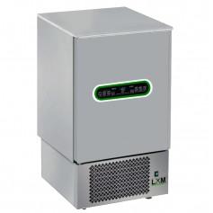 Abbattitore 7 teglie in acciaio INOX controlli digitali e sensori touch