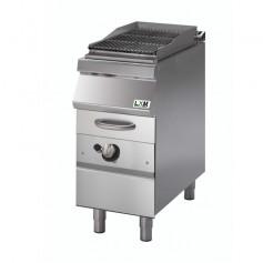 Griglia ad acqua a gas zona di cottura in ghisa per carne o pesce