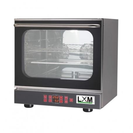 Forno convezione 4 teglie con umidificatore e grill porta a ribalta pasticceria/gastronomia