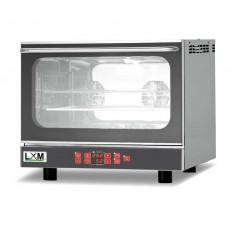 Forno convezione 4 teglie GN1/1 o 60x40 cm con umidificatore e grill porta a ribalta pasticceria/gastronomia