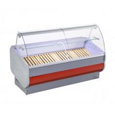 Espositore Refrigerato - Modello SLI - Vetri Dritti Cappello in Vetro - Larghezza 1040 mm