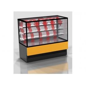 Espositore Riscaldato - Modello K Hot Vetri Dritti - Lunghezza 1800 mm