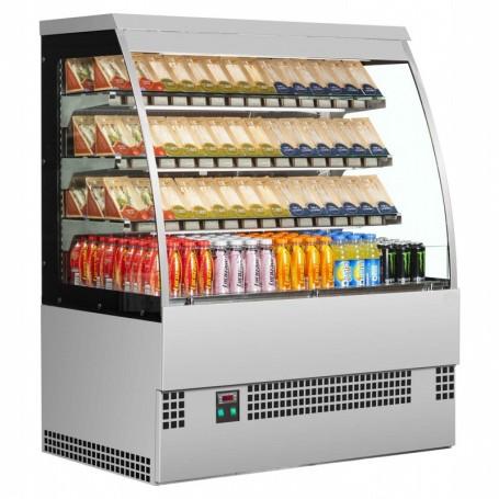 Espositore Refrigerato SELF - Modello S - Lunghezza 900 mm