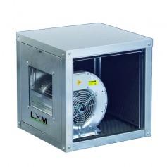 Ventilatore centrifugo in lamiera zincata a doppia aspirazione direttamente accoppiato alla girante 5000 m^3/h