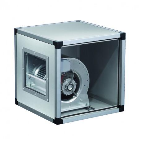 Ventilatore centrifugo in acciaio inox a doppia aspirazione direttamente accoppiato alla girante 2500 m^3/h