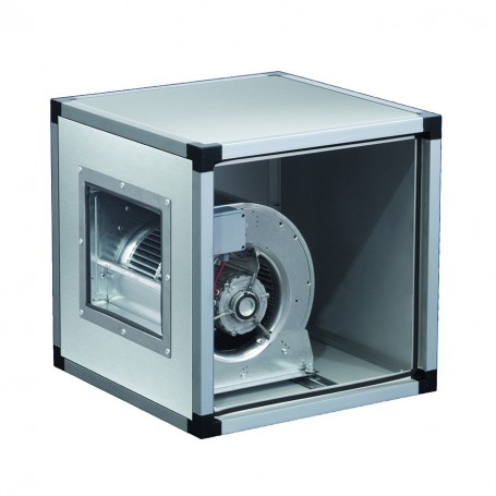 Ventilatore centrifugo in acciaio inox a doppia aspirazione direttamente accoppiato alla girante 3000 m^3/h