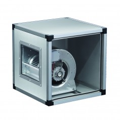 Ventilatore centrifugo in acciaio inox a doppia aspirazione direttamente accoppiato alla girante 10000 m^3/h TRIFASE