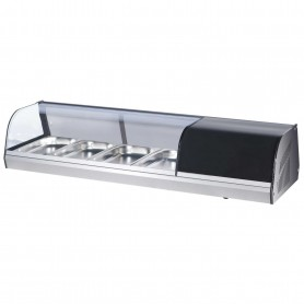 Vetrina Refrigerata Tapas - 7,7 Litri - 4 Cassetti GN 1/3