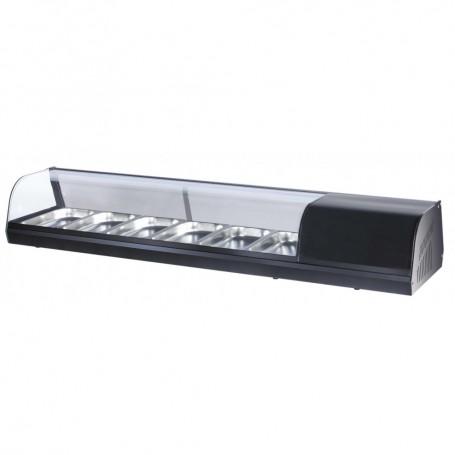 Vetrina Refrigerata Tapas - 11,7 Litri - 6 Cassetti GN 1/3