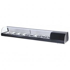 Vetrina Refrigerata Tapas - 15,6 Litri - 8 Cassetti GN 1/3