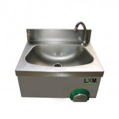 Lavamani Temporizzato in acciaio inox - 50x40x33.5h cm