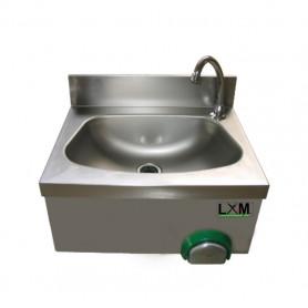 Lavamani Temporizzato in acciaio inox - 40x40x33.5h cm