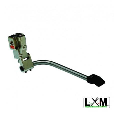 Miscelatore a pedale per acqua calda e fredda - montaggio a pavimento e a parete