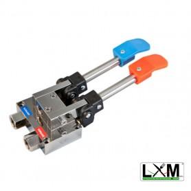 Miscelatore 2 pedali - acqua calda e fredda