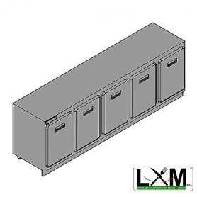 Modulo Refrigerato - Senza Motore - Larghezza 2500 mm - Temperatura Normale - Statica Con Evaporatore