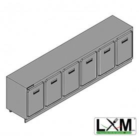 Modulo Refrigerato - Senza Motore - Larghezza 3000 mm - Temperatura Normale - Statica Con Evaporatore