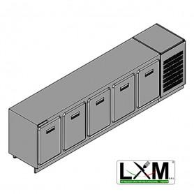 Modulo Refrigerato - Con Motore - Larghezza 3000 mm - Temperatura Normale - Statica Con Evaporatore