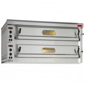 Forno Rinaldi - Modello Pizza Ovens - 2 Camere - Comandi Elettromeccanici - 3 + 3 Pizze