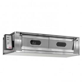 Forno Rinaldi - Modello RMP LATERALE - Comandi Digitali - Camera in Acciaio - 10 Pizze - 15,4 KW Sportelli Basculanti