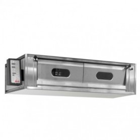 Forno Rinaldi - Modello RMP Pinsa Line - Comandi Digitali - Camera in Acciaio - 8,8 KW