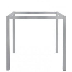 Base per interni struttura in metallo verniciato 80x80x72,5 cm
