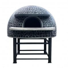 Forno a legna artigianale per pizzeria - Camera interna 120x120 cm