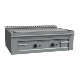 Teppanyaki - 2 Piastre Cromate - A Gas - 1000x720x390 mm