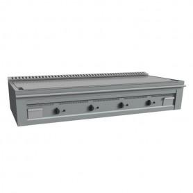 Teppanyaki - 4 Piastre Cromate - A Gas - 1600x720x390 mm