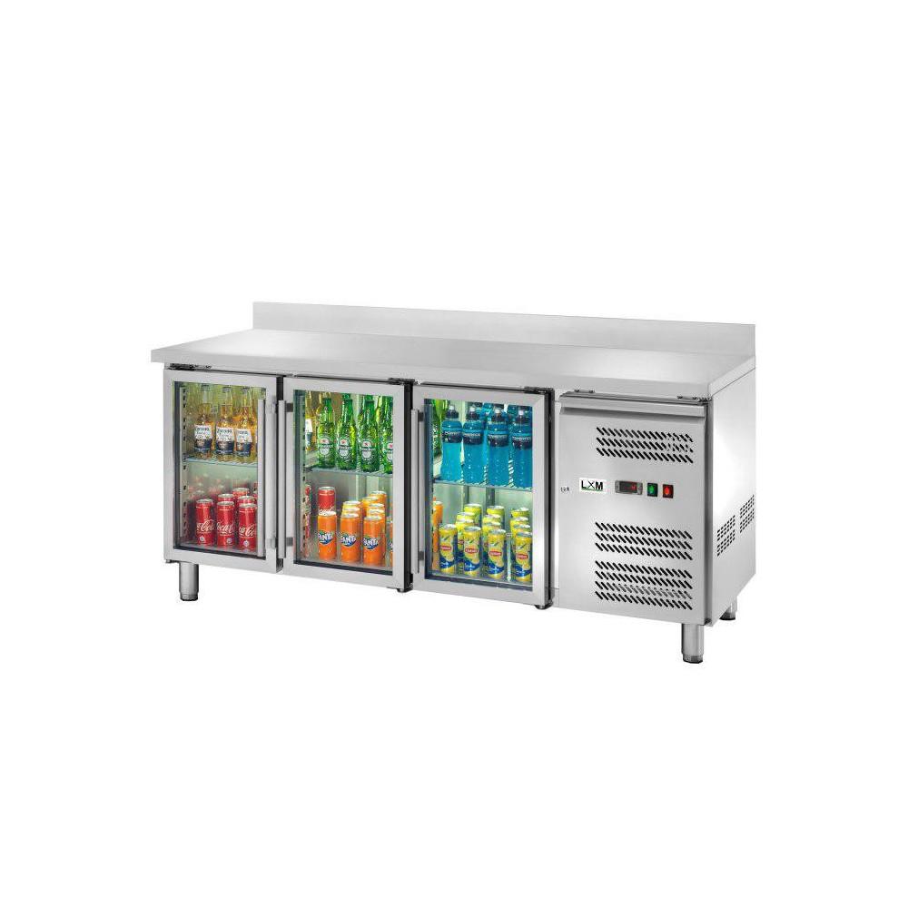 Banco Refrigerato - Con Porte a Vetri - 3 Porte con ...