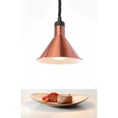 Lampada Riscaldante Conica Regolabile - Rame - 250 Watt