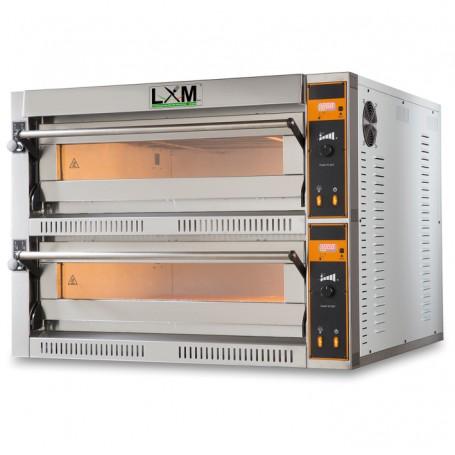 Forno Elettrico linea TEC Digitale 6+6 pizze