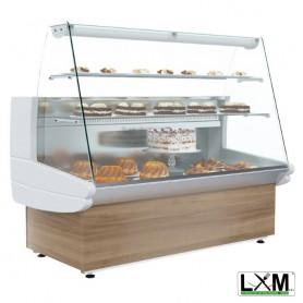 Vetrina Refrigerata per Pasticceria - Modello SCN - 1480x850x1250h mm