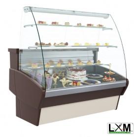 Vetrina Refrigerata per Pasticceria - Modello PLM -1180x990x1400h mm
