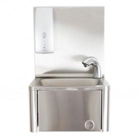 Lavamani con Dispenser per gel disinfettante