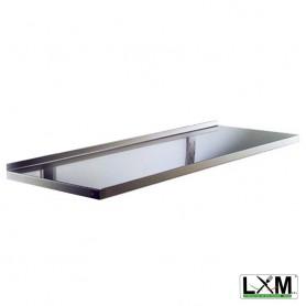 Ripiano a Muro Liscio - 1000x250x80h mm
