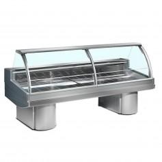 Espositore Refrigerato - Per Carne - Modello Buffalo Statico - Lunghezza 3500 mm